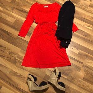 Old Navy Maternity scoop neck 100% Rayon dress.